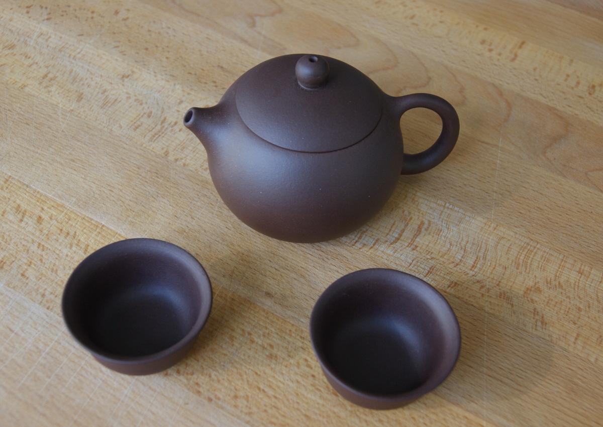 Meine neue Yixing Teekanne im Gui Fei Stil