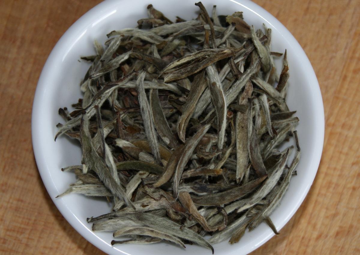 Weißhaar-Silbernadel Tee aus Fuding