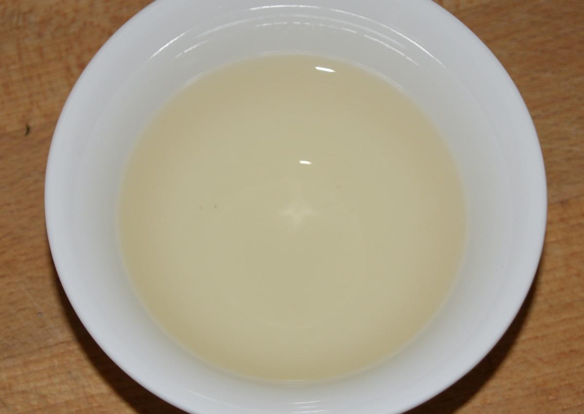 Die zart-gelbe Tasse des Huang Shan Mao Feng