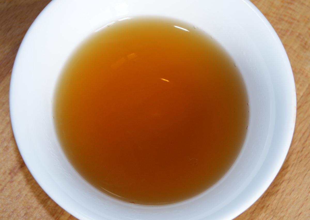 Die rot-goldene Tasse des Jinjunmei