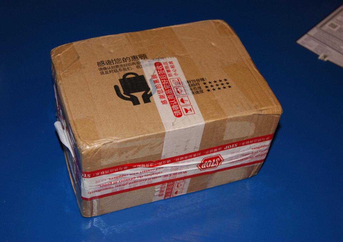 Das Paket aus Guangzhou